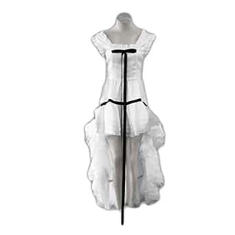 Chobits Cosplay Costume - Chii White Dress 2nd Small