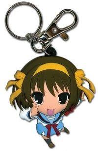 The Melancholy of Haruhi Suzumiya: Key Chain - Haruhi (KeyChains)