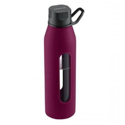 Image of Glass Water Bottle 20oz Purple (B005P0SSZE)