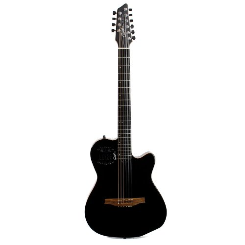 Godin Guitars 038220 A10 Black Steel Electric Guitars