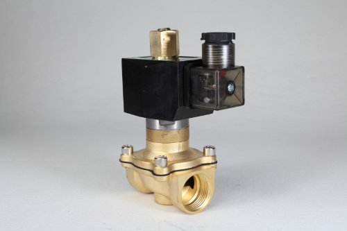 "1Pcs Ac 110V 3/4"" 2Way 2Position Electric Solenoid Valve Water Air Gas N/0 Gas Water Air 2W-20K Bsp Normal Open"