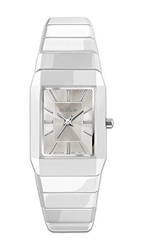Dugena-Reloj de pulsera analógico para mujer con mecanismo de cerámica 4460541