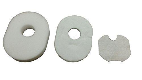 SHARK Type XFFV300 & 1080FTV320 Filter Kit for Shark Rocket HV300, HV301, HV302, HV305, HV310 Vacuum Cleaners. Genuine Gold Line filters. (Shark Rocket Vacuum Filters Hv301 compare prices)