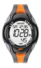 Speedo 50 Lap Dual Time Grey Dial Men's watch #SD55151BX