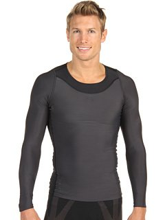 SKINS Men's Ry400 Recovery Long Sleeve Top , Black, Large Skins Active Base Layers autotags B003NB6GFG