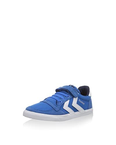 Hummel Sneaker Hum Sl Stadil Jr Canvas Lo [Grigio/Bianco]