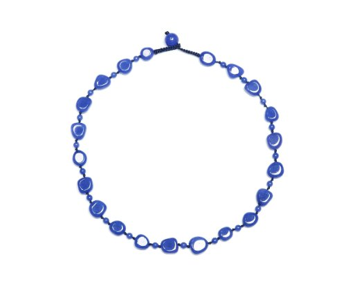 Lola Rose 'Jayden' True Blue Quartzite Necklace