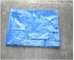 Bache de protection tressée polyéthylène, dimensions : 3x4 m.