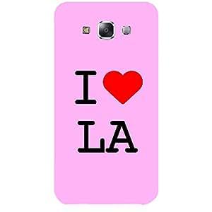 Skin4gadgets I love Los Angeles - LA Colour - Light Pink Phone Skin for SAMSUNG GALAXY E7 (E7000)