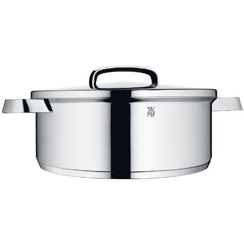 WMF Topstar 4 3/4-Quart Stainless Steel Low Casserole with Lid
