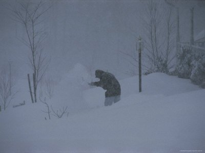 Blizzard of January 1996, Gaithersburg