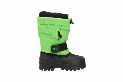 Polo Ralph Lauren Whistler (GS) Boys Snow Boots 95284-GS Neon Green 5 M US