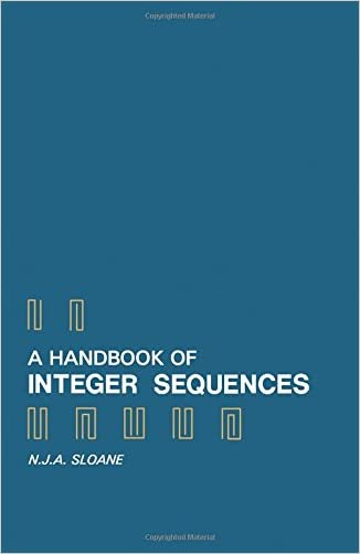 A Handbook of Integer Sequences