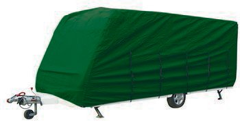 Maypole Superior Heavy Duty Breathable 17-19 Green Caravan Cover