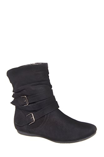 Evon Casual Flat Boot