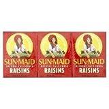 Sun Maid California Raisins 6 X 42.5G