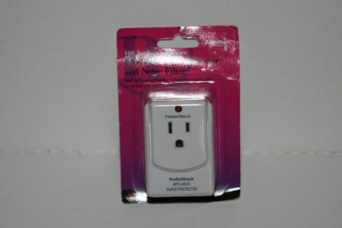 100 Joules Appliance One Outlet Surge Protector front-268821