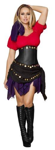 5 Piece Seductive Gypsy Costume