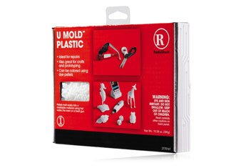 U Mold Plastic Molding Kit, Ideal For Repairs, Crafts And Prototyping, Can Be Colored Using Dye Pellets front-230061