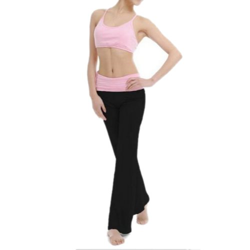 GOGO TEAM Women's Yoga Pants / Belly Dance Costume Activewear Three-piece Set