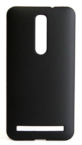 ASUS ZenFone 2 スリムフィットケース AIR SLIM DESIGN [ ZE551ML / ZE550ML 5.5インチ SIMフリー LTE 楽天モバイル版 対応 ] 薄型軽量デザイン16g ワンタッチ装着 Slim Fit Cover Case PCハード素材MY WAY 専用パッケージ:全7色 (ASUS ZenFone 2 (ZE551ML), Black (黒))