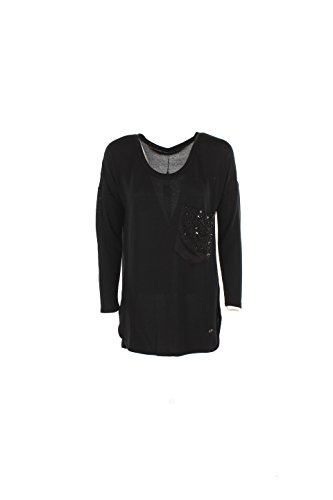 T-shirt Donna Yes-zee Xl Nero T017 C900 Autunno Inverno 2016/17