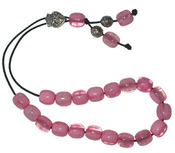 Worry Beads - Classic - Pink Swirl