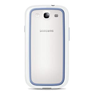Belkin Surround Case / Cover for Samsung Galaxy S4 / S IV(White / Blue) by Belkin