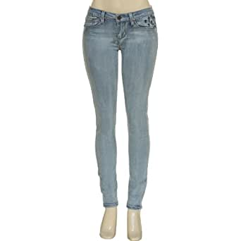 YMI Jeans Supper Skinny Foxy Cross Embroidered Stretch Jeans,L98,0