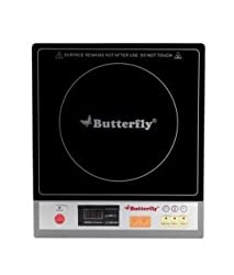 Butterfly Premium 1800-Watt Induction Cooktop (Black)