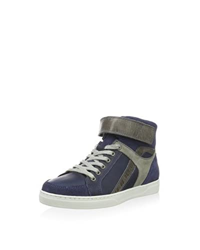 Bullboxer Jungen AEG564E6L High-Top, Blau (Blue), 37 EU blau