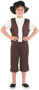 Tudor Boy - Childrens Fancy Dress Costume, Large 8-10 Years