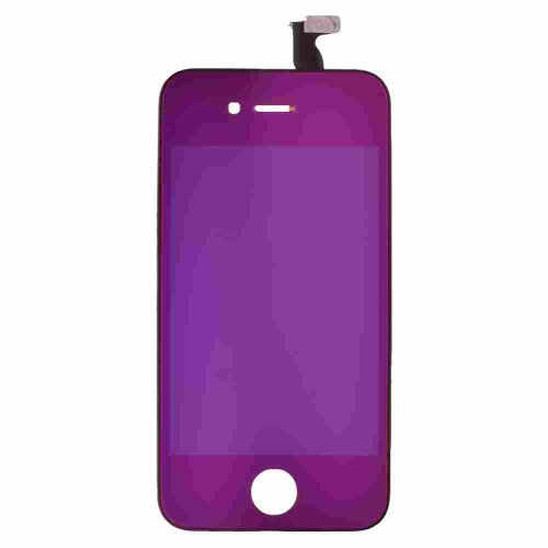 Lcd, Digitizer & Frame Assembly For Apple Iphone 4S Cdma & Gsm Metallic Purple