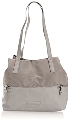 Esprit Womens Eve Fancy Shopper Shoulder Bag 054EA1O012 Mud