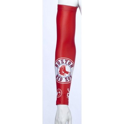 Image of VOmax Boston Red Sox_AW MLB Boston Red Sox Unisex Cycling Arm Warmers Size: X-Small (B0053ZJR0Q)
