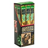 31PZasxbgRL. SL160  Ostrim Beef &amp; Ostrich Snack, Pepper 10   1.5 oz sticks [15 oz (420 g)]