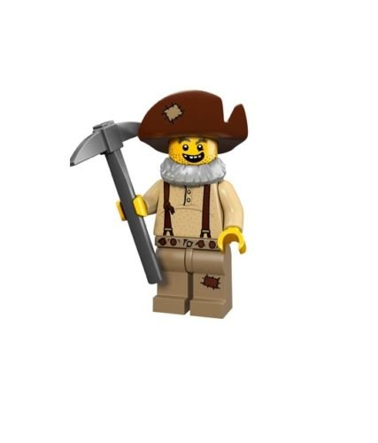 LEGO Series 12 Collectible Minifigure 71007 - Prospector Miner - 1