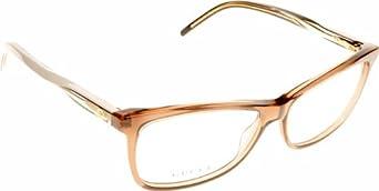 Gucci Eyeglass Frame 3643 : Gucci 3643 Gg Logo Brown / White / Beige Frame Plastic ...