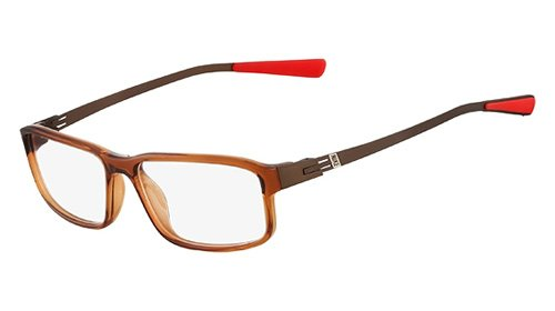 Nike Nike 7105 Eyeglasses (210) Brown, 54mm