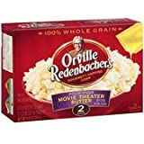 Orville Redenbacher's Pour Over Movie Theater Butter Microwave Popcorn 9.9 oz (Pack of 2)