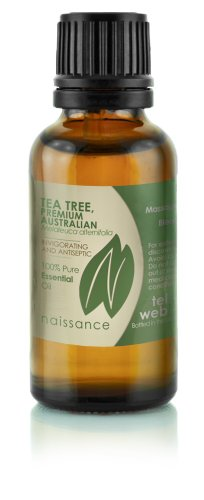 Naissance Tea Tree, Premium Australian Essential Oil - 10Ml / 0.39Fl Oz