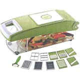 ANANTHA Original FAMOUS 12 PCS Set * 11 Types Cutter & 1 Compartment * Vegetable Fruit Peeler Multi Chopper Potato... - B014KRI4TC