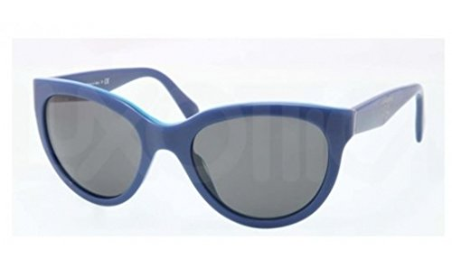 prada Prada PR05PS Sunglasses-RO1/1A1 Top Blue/Azure (Gray Lens)-55mm