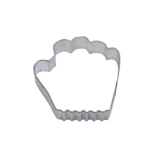 Dress My Cupcake DMC41CC1392SET Baseball Glove Cookie Cutter, 3.75-Inch, Set of 12