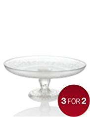 The Great British Bake Off Glass Cake Stand