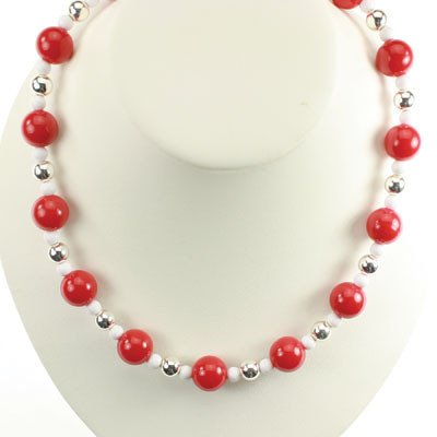 Wisconsin Badgers - Ncaa 18' Stretch Necklace