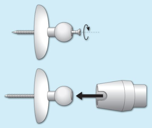 Cortinas De Baño La Plata: plata brillante adaptador para esquina la barra de plata – baulofertas