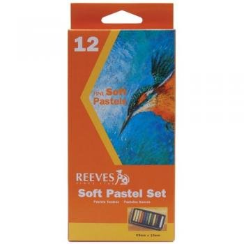 Reeves 12 Colors Soft Pastel Set