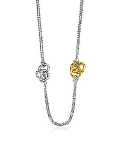 Esprit Collar Liasion plata de ley 925 milésimas / Oro