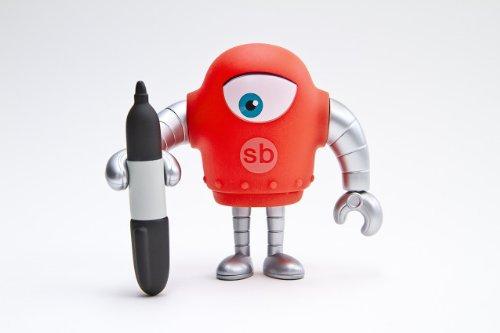 SKETCHBOT Variant 5 - RED Version - 1